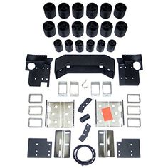 Performance Accessories (40053) Body Lift Kit for Nissan Titan