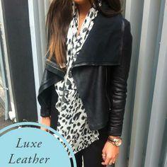 debonair leather jacket - Google Search