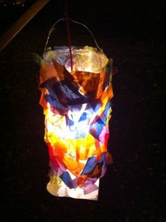 lanterns - did this for halloween and the kids loved it, this would be fun for spring and walks in the evenings