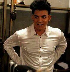 Adam Lambert in White Shirt