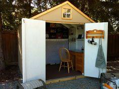 Art Shed Art Shed, Shed Organization, Outdoor Structures, Studio, Garden, Garten, Lawn And Garden, Studios, Gardens
