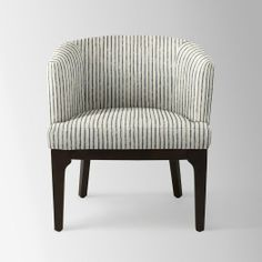 Oliver Chair - Prints | west elm @Sarah Dolce I know it's not the prettiest thing, but the size is right on...  and the price is nice.