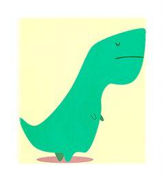 T-Rex animated gif by Sergio Casado