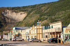 "Dawson City, Yukon Spent a couple sleepless, sunlight nights here on our 2010 ""nostalgic"" road trip! Yukon Canada, O Canada, Alaska Travel, Alaska Trip, Yukon Territory, Fake Photo, Tourist Trap, Arctic Circle, Travel Memories"