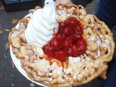 Funnel cake at Canada's Wonderland!!