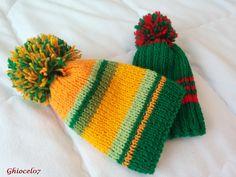 Caciulite cu verde Knitted Hats, Beanie, Knitting, Fashion, Green, Moda, Tricot, Fashion Styles, Breien
