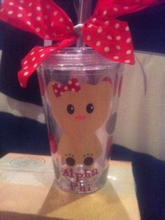 Alpha Phi Tumbler  Free Shipping by LCP2012 on Etsy, $20.00
