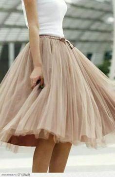 beauty Tulle Skirt