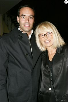 Mireille Darc et Anthony Delon.