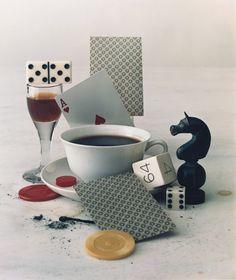 Irving Penn (1917-2009) - After Dinner Games, 1947 Large-format dye-transfer…