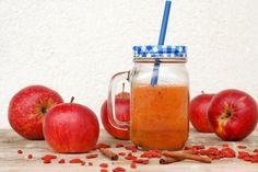 Recepty – JÍME CHYTŘE – Odborné výživové poradenství – Recepty Smoothies, Pear, Mason Jars, Apple, Mugs, Fruit, Tableware, Food, Smoothie
