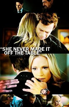 Jennifer Jareau, Spencer Reid-Criminal Minds- she never made it off the table (Emily Prentiss)