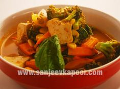 How To Make Malaysian Vegetable Curry Style Find This Pin And More On Sanjeev Kapoors Recipe