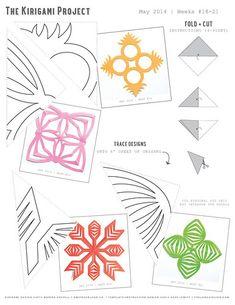 kirigami-diagrams