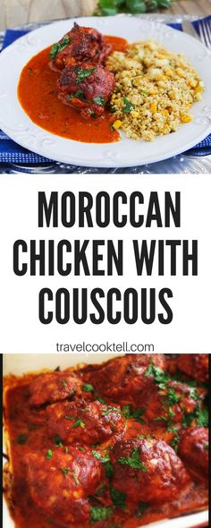 Moroccan Chicken with Couscous | Travel Cook Tell