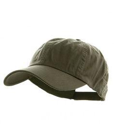 e7f09b39 Mega Cap Low Profile Velcro Adjustable Cotton Twill Cap- Olive-One Size  CU1281GPPB5