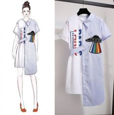 48 New Ideas Fashion Design Sketches Casual Art – Fashion Models Asian Fashion, Look Fashion, Trendy Fashion, Fashion Ideas, Kawaii Fashion, Latest Fashion, Fashion Trends, Young Fashion, Fashion Art