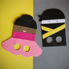 Fun Piano Crafts Finger Puppets- Perfect for teaching little ones to play on their finger tips