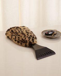 H7YMJ Leopard Ice Scraper