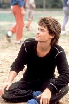 Rob Lowe in St. Elmo's Fire, 1985