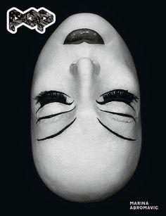Artist Marina Abromavic on the cover of Pop Magazine