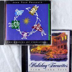 John Tesh #Christmas 2 Cd Lot Holiday Favorites 1996 New + Xmas Choirs 1994
