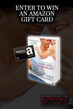 Win a $25 Amazon Gift Card from Author Sarah Ballance  http://www.romancedevoured.com/giveaways/win-a-25-amazon-gift-card-from-author-sarah-ballance/?lucky=182608