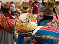 Chinchero market, Perú