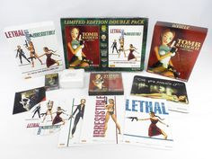 Tomb Raider II (2) Limited Edition Double Pack for PC by Eidos, 1997, Action