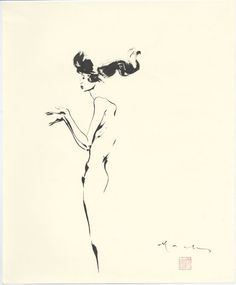 David Mack Life Drawings Sumi-e brush painting – Century Guild