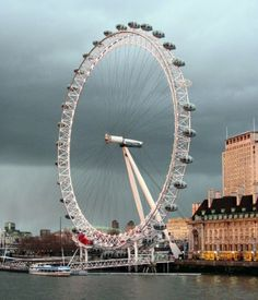 London Eye, gran noria gigante de Londres - Inglaterra