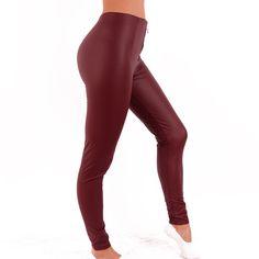 312751# (Fekete) Műbőr leggings   viyou.hu Knee Boots, Leather Pants, Leggings, Sport, Fashion, Leather Jogger Pants, Deporte, Moda, Leather Joggers