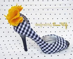 Repurpose old shoes with fabric and mod podge