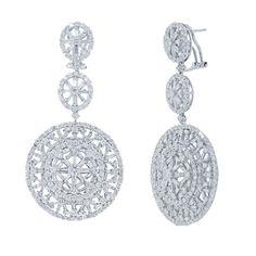 Uniquepedia.com - 9.66ct 18k White Gold Diamond Earrings, $12,428.00 (http://www.uniquepedia.com/9-66ct-18k-white-gold-diamond-earrings/)
