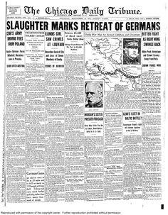 Sept. 12, 1914: Slaughter marks retreat of Germans.