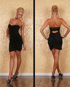 Ruffle High Waist Tight Dress #dress