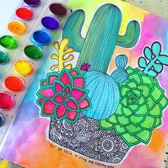 Color a mis plantitas