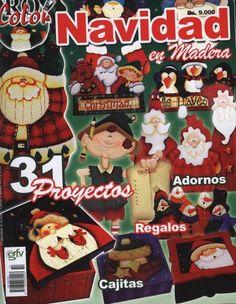18 - Betty Salinas - Álbumes web de Picasa Cottage Christmas, Christmas Books, Christmas Deco, All Things Christmas, Book Crafts, Hobbies And Crafts, Christmas Crafts, Craft Books, Beaded Christmas Ornaments