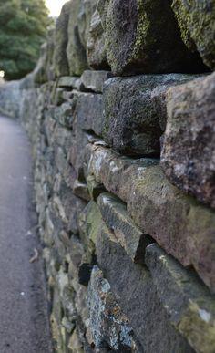 yorkshire drystone wall.