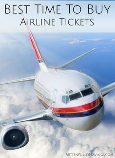 best time to buy airline tickets international