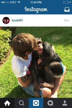 Louis posted this a few seconds ago! Caption: reunited with an old friend !