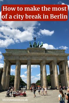 What to do on a city break in Berlin. The ultimate itinerary - what to do, see and eat during a 3 day city break in the capital of Germany. What to do on a city break in Berlin - the 3 day itinerary {https://www.lifestylemaven.co.uk/what-to-do-on-a-city-break-in-berlin?utm_campaign=coschedule&utm_source=pinterest&utm_medium=Vicki%20Marinker%20%2F%20Lifestyle%20Maven&utm_content=What%20to%20do%20on%20a%20city%20break%20in%20Berlin%20-%20the%203%20day%20itinerary}