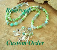 Reserved - Custom Order - Bohemian Fairy Necklace, Original Handmade Bohemian Jewelry by Kaye Kraus by BohoStyleMe on Etsy