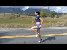 video by www.Vo2maxProductions.com. Tips to keep for a more efficient running stride to improve speed, endurance and resistance to injury. You'll see correct, proper running form along with some drills that you can use to improve your technique. Music by www.TakeToTheOars.com. Runner model: Allie Kieffer.