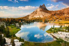 Upper Cathedral Lake, Yosemite