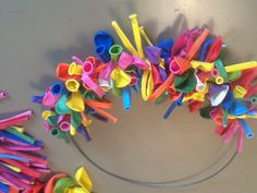 Diy For Kids, Crafts For Kids, My Little Pony Party, Carnival Themes, Happy B Day, Birthday Fun, How To Make Wreaths, Diy Wreath, Little Gifts