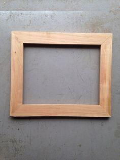 11x14 Pecan Frame by JonesFraming on Etsy