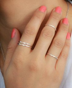 Delicate rings - my MUST HAVE for fall!