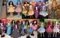 Volume 2 Printable Doll Clothes - Printable Paper Dresses that fit Barbie, Monster High, Ever After High and more on Etsy, £4.86