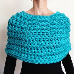 Instructions to Make: Crochet Capelet No. 2 PDF PATTERN ONLY